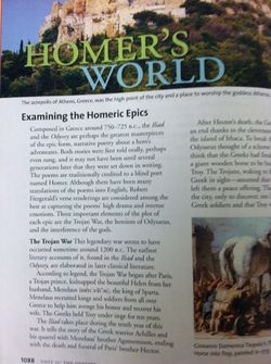 Information Text_Homer's World
